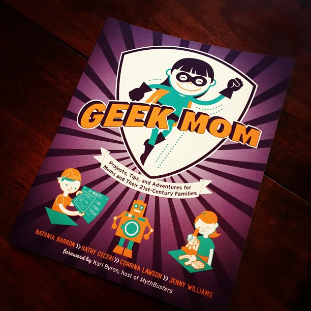 The GeekMom Book is Here (And Available for Preorder)
