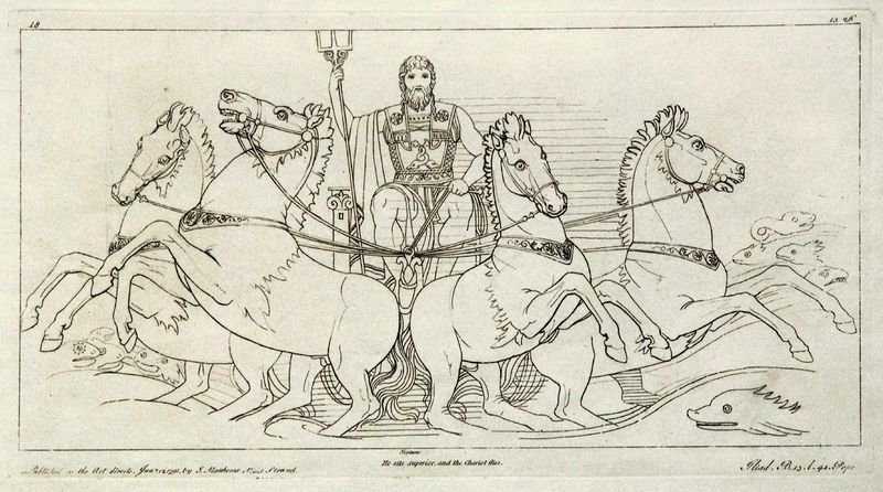 from Flaxman's Iliad - 1792. Public Domain.