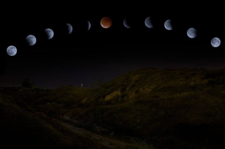 Full Lunar Eclipse {Grand Terrace Photography}