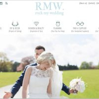 Featured on Rock My Wedding : Hannah & Rob