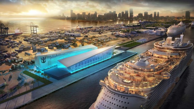 Terminal Exclusivo da Royal Caribbean em Miami