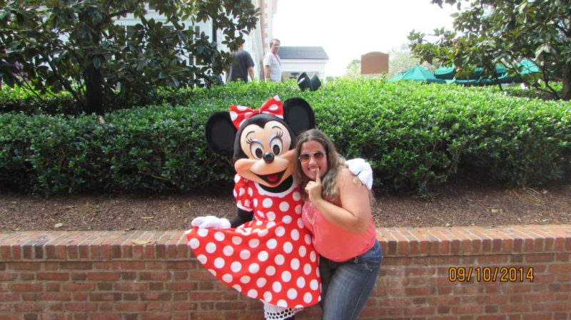 Minnie no Character Palooza no Epcot