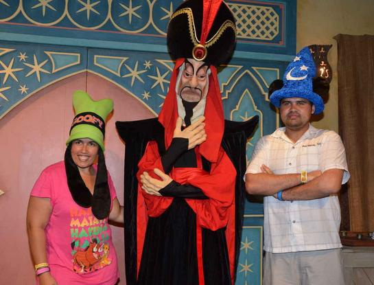 Jafar Personagem Raro - Mickey Not So Scary Party