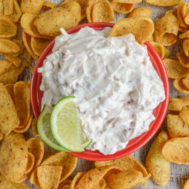 Chipotle Lime Dip with Greek Yogurt