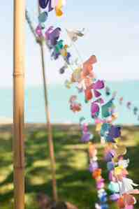 DIY Paper Flower Garland Lei Tutorial (with free printables and Silhouette Studio files!)
