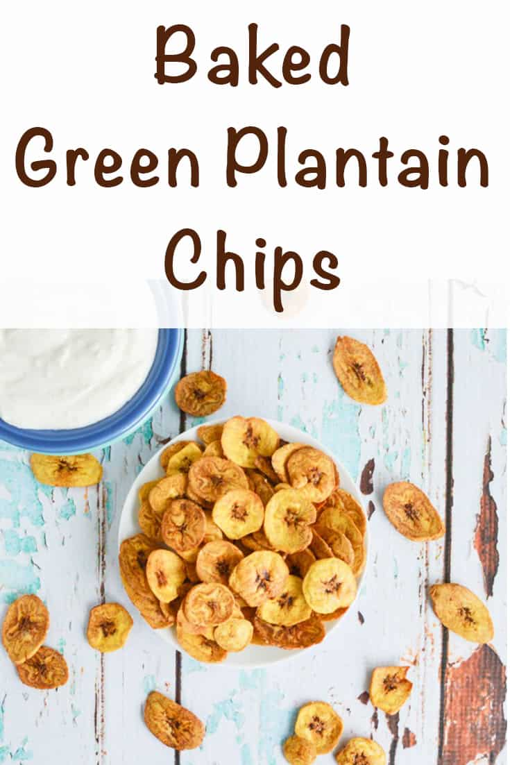 baked green plantain chips recipe