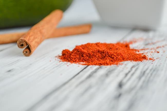 cayenne and cinnamon