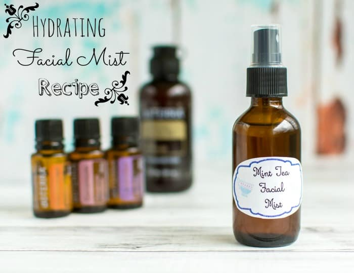 How to Make your own Soothing Facial Mist - DIY Hydrating Travel Facial Spritz