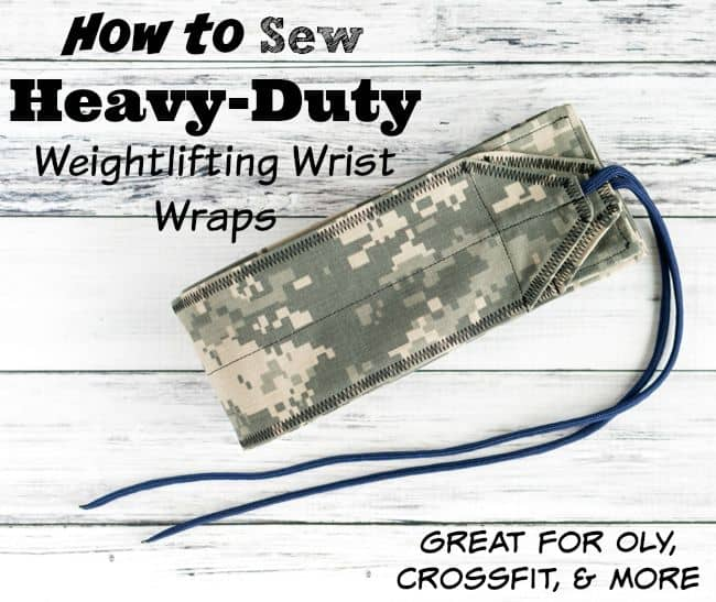How to Sew Heavy Duty Wrist Wraps