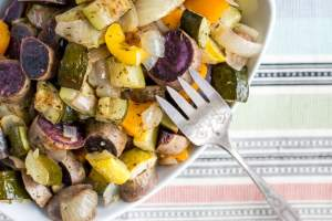 Weekly Meal Prep Oven Roasted Veggies
