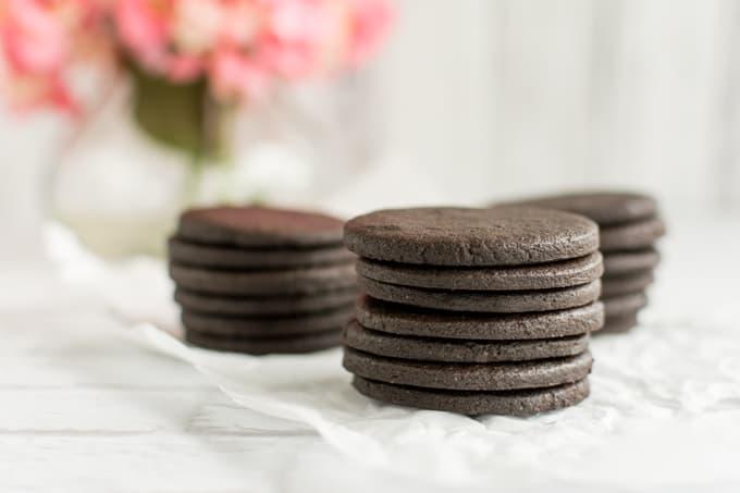 """homemade """"oreo"""" cookies"""