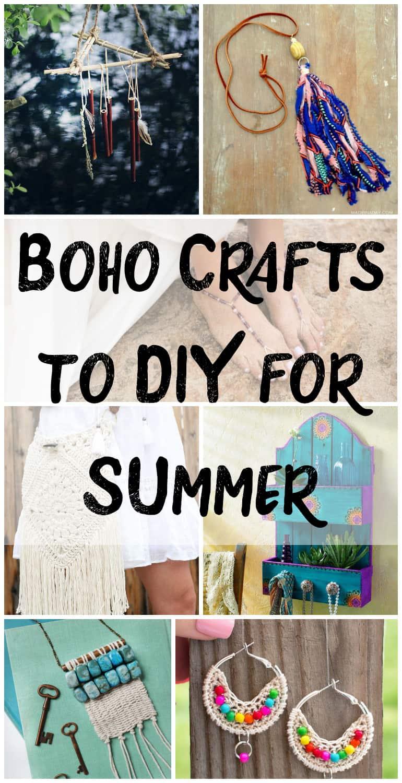 Boho crafts for summer - Boho Crafts to DIY for Summer