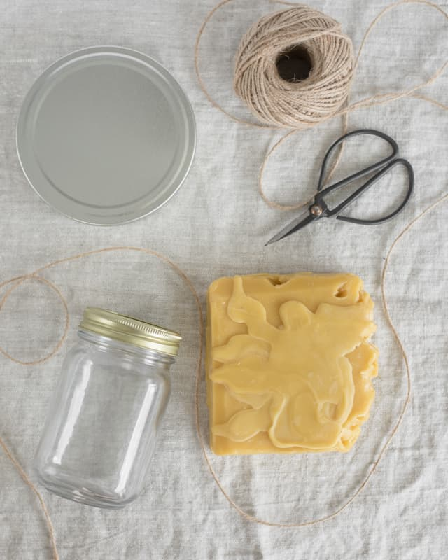 materials for DIY natural wood polish