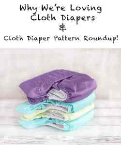 Cloth diaper pattern roundup