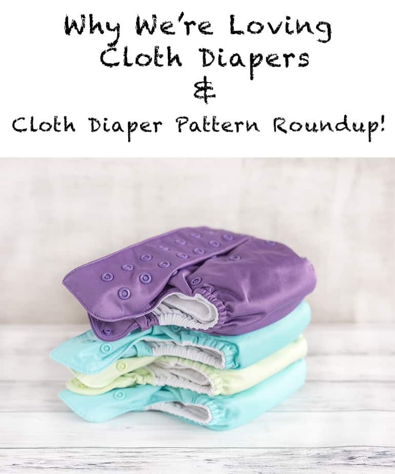 Cloth diaper pattern roundup