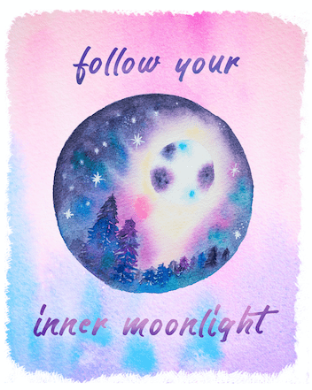 Wellbeing Wednesday – Follow your Inner Moonlight