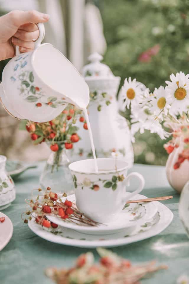 afternoon tea for a bachelorette party