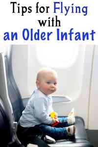 Tips for Flying with an Older Infant