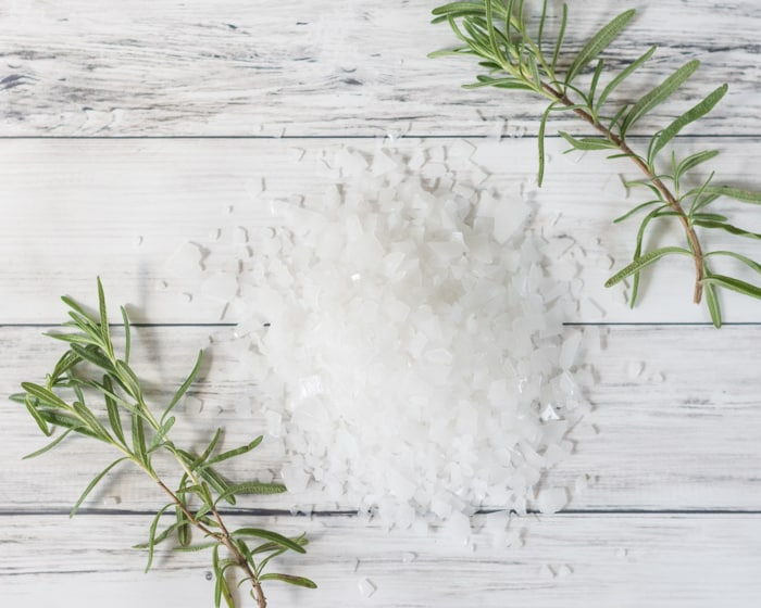 magnesium flakes for rosemary foot soak