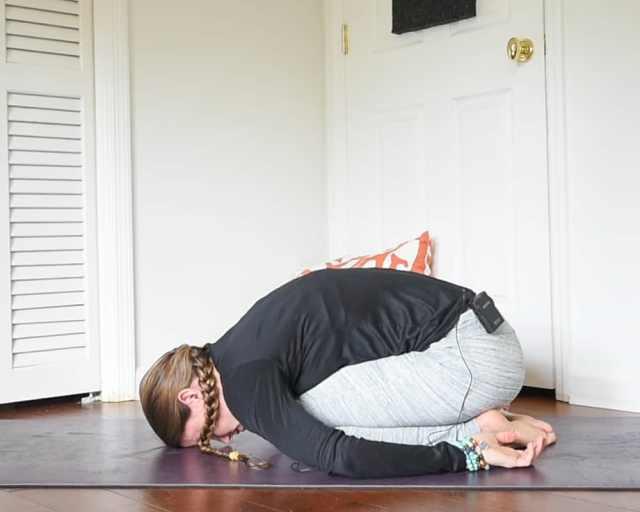 child's pose yin yoga