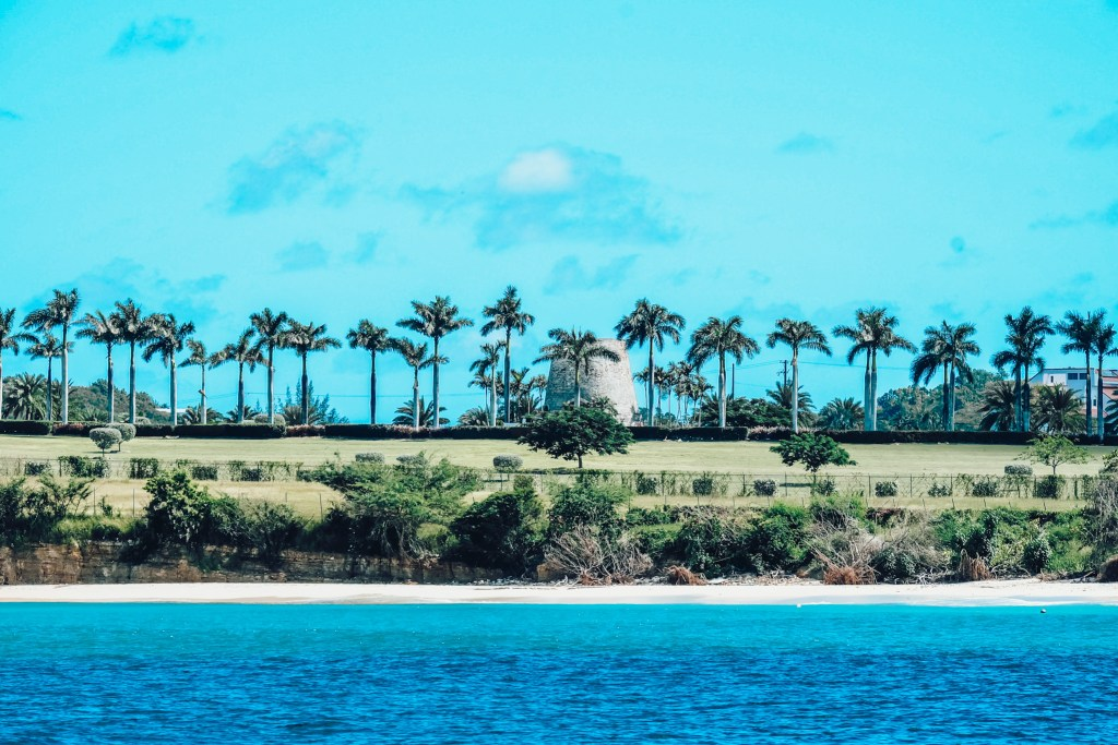 One of the many plantation windmills you can see in Antigua