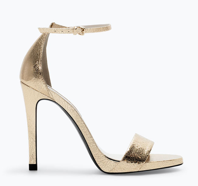 Zara Tacco E Con Piattaforma Sandalo UqpjLSzVGM