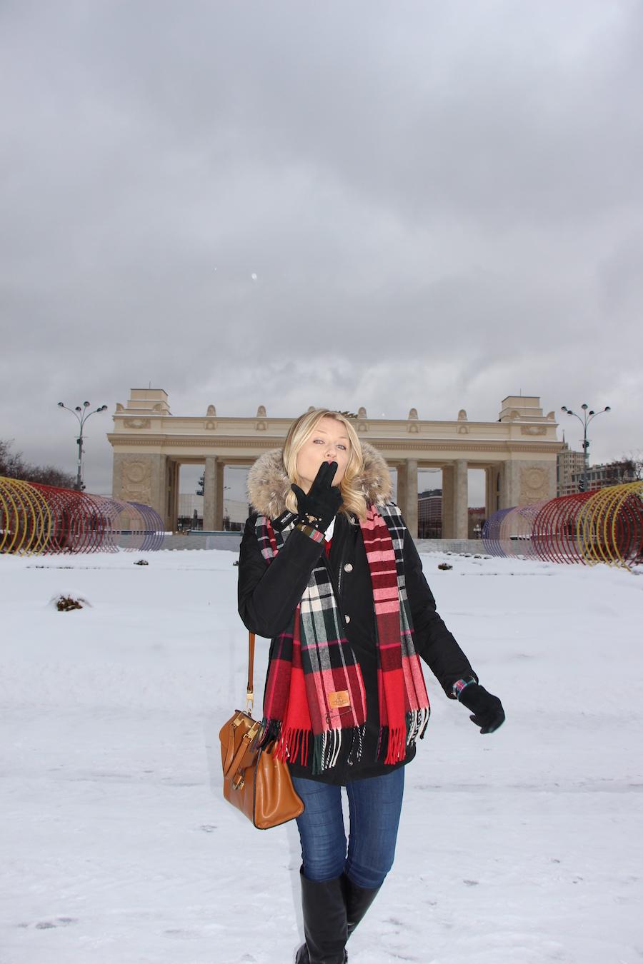 Outfit russian style Natasha Stefananko