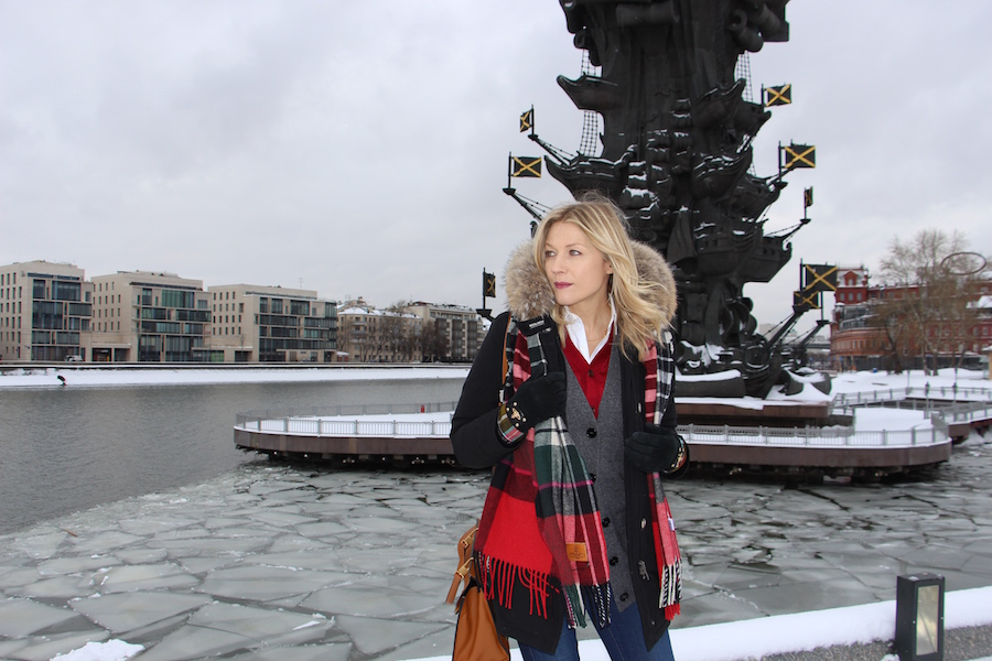 Outfit russian style Prada