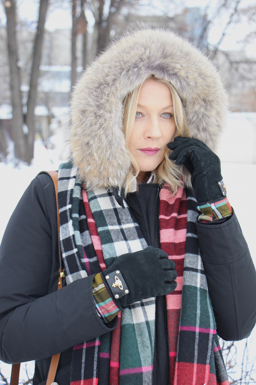 Outfit russian style woolrich