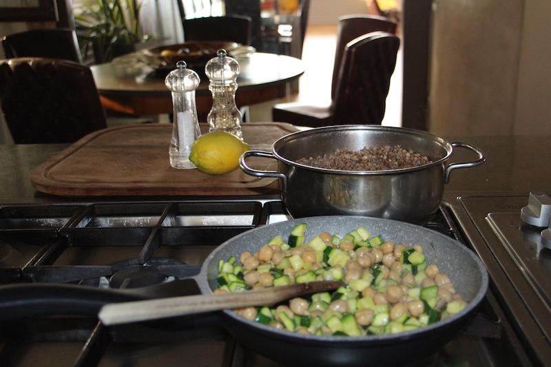 Ricetta insalata di cereali estiva esecuzione