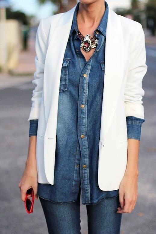 Come portare bene i jeans dopo i 40 collana