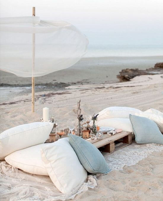 pic nic mare Beach Bliss Living 2