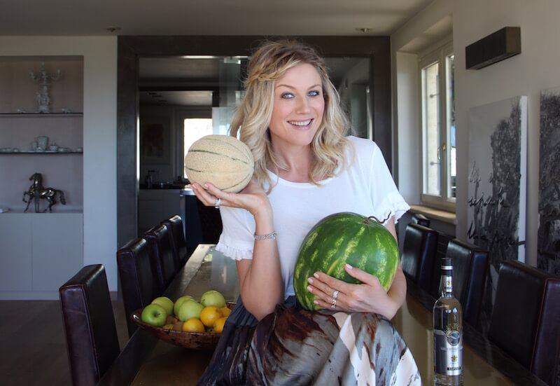 Aperitivi freschi e veloci anans anguria melone