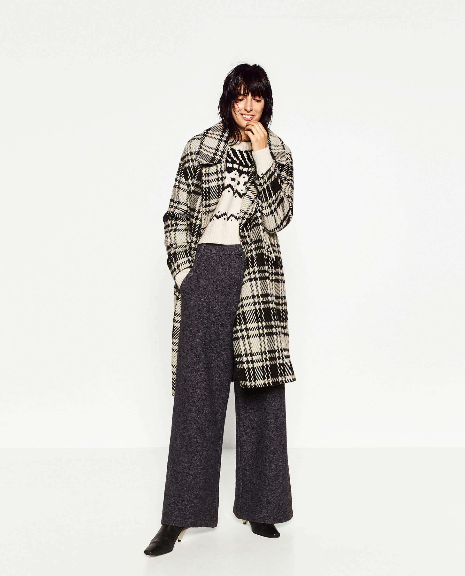 quality design c5f54 3107a cappotti-per-l-inverno-2017-zara-quadri - Natasha's Way