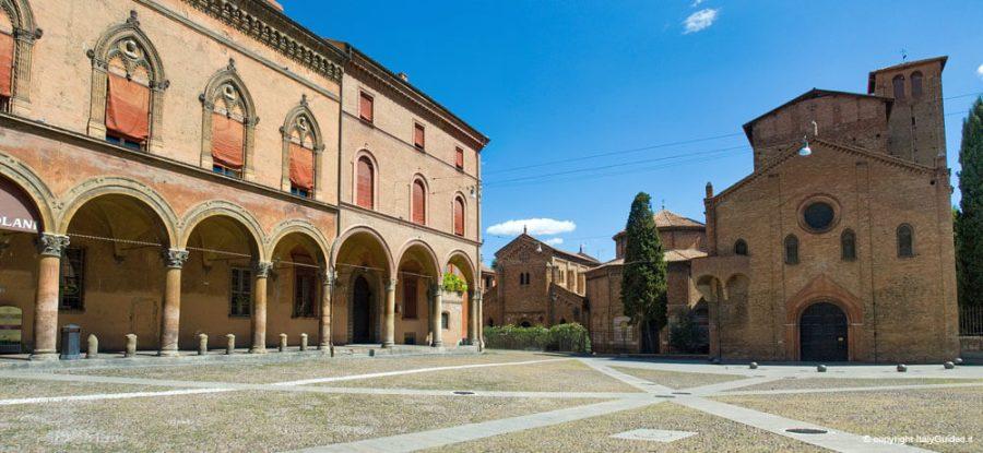 Самые красивые площади Италии, piazza santo stefano