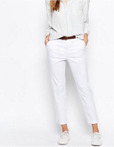 stile Jackie O pant bianco asos