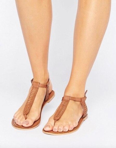 stile Jackie O sandali cuoio 2