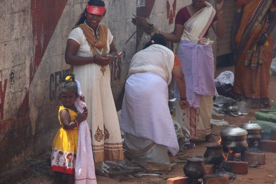 Путешествие в Кералу, праздник