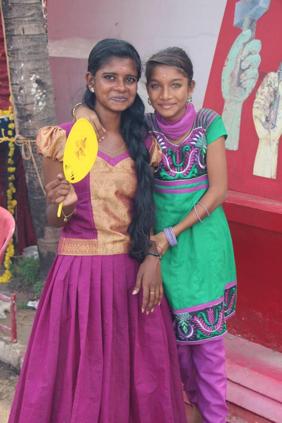 Путешествие в Кералу, женщины