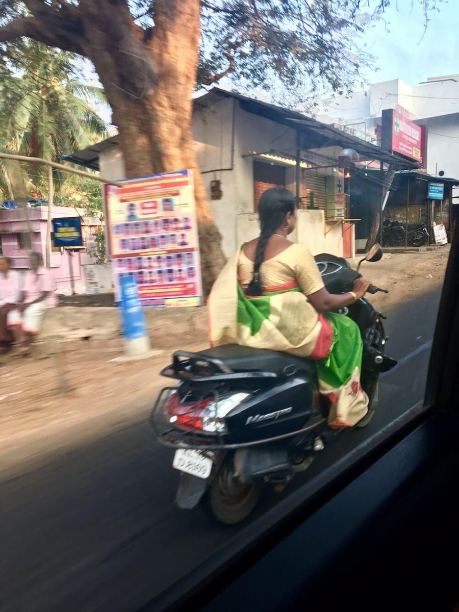 Путешествие в Кералу, дороги
