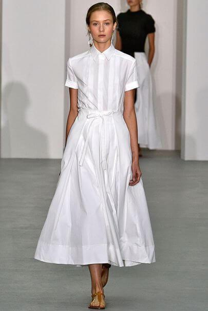 abito bianco Conran
