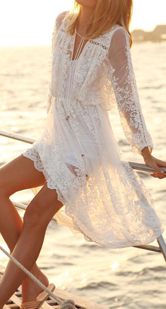 abito bianco kaboodle.com