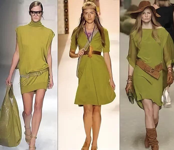 Модные цвета на осень 2017, golden lime
