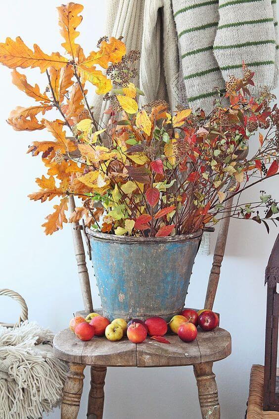 decorare casa con le foglie d'autunno  Worthing Court Blog