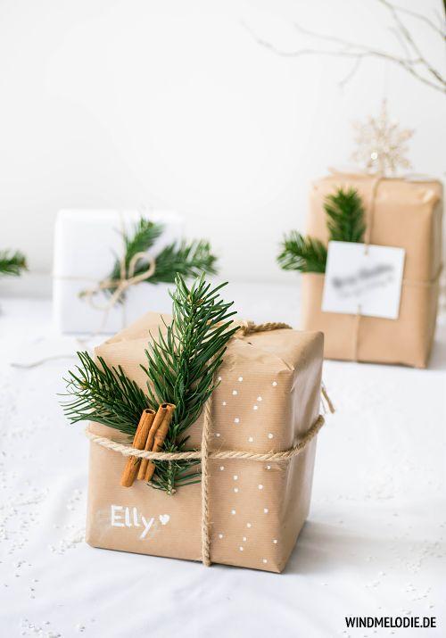 impacchettare i regali di Natale duni-cheri.blogspot.de
