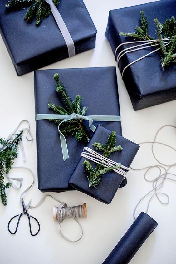 impacchettare i regali di Natale shannonkirsten.blogspot.com