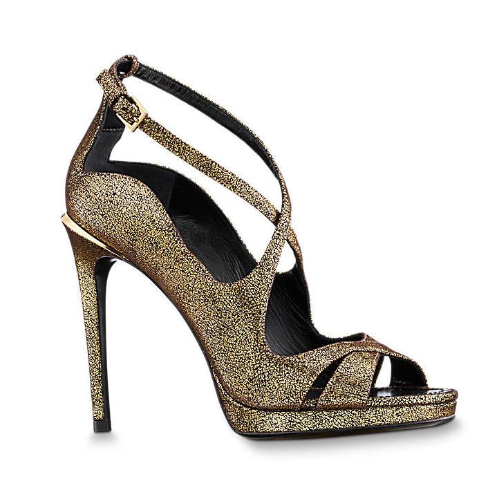 scarpe gioiello Louis Vuitton