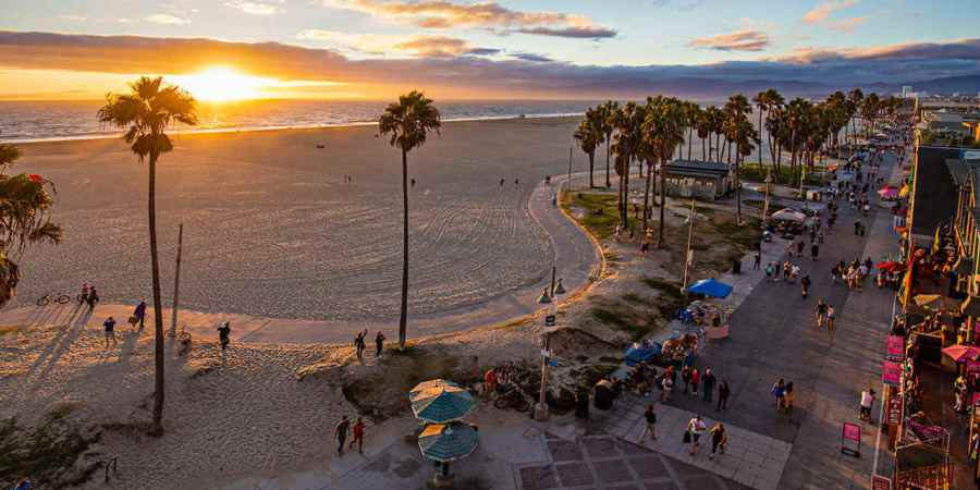 Viaggio a Los Angeles venice beach