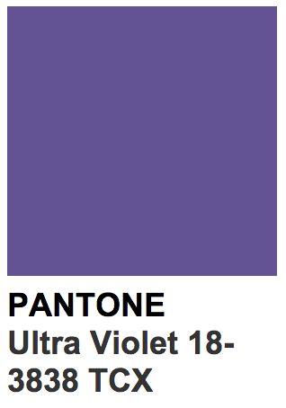 Ultra violet colore dell'anno 2018 pantone