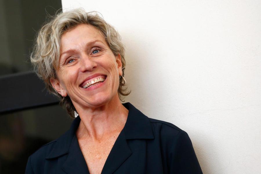 Oscar 2018 over 40 Frances Mc Dormand